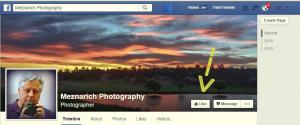 Facebook Public Page - Meznarich Photography